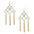 SOUTHERN CHARM GOLD TASSEL EARRINGS