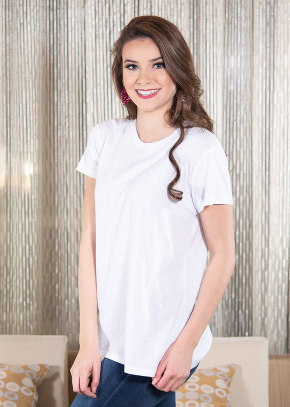 LUXE T-SHIRT – WHITE