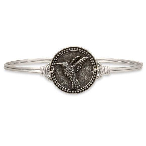 Hummingbird Bangle Bracelet