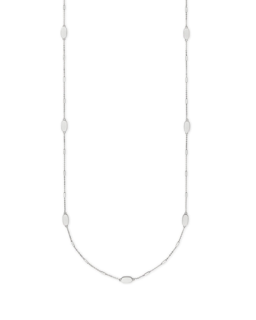 Franklin Necklace in Rhodium