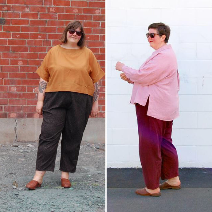 Comparing pants: Willandra, Glebe & Sculthorpe