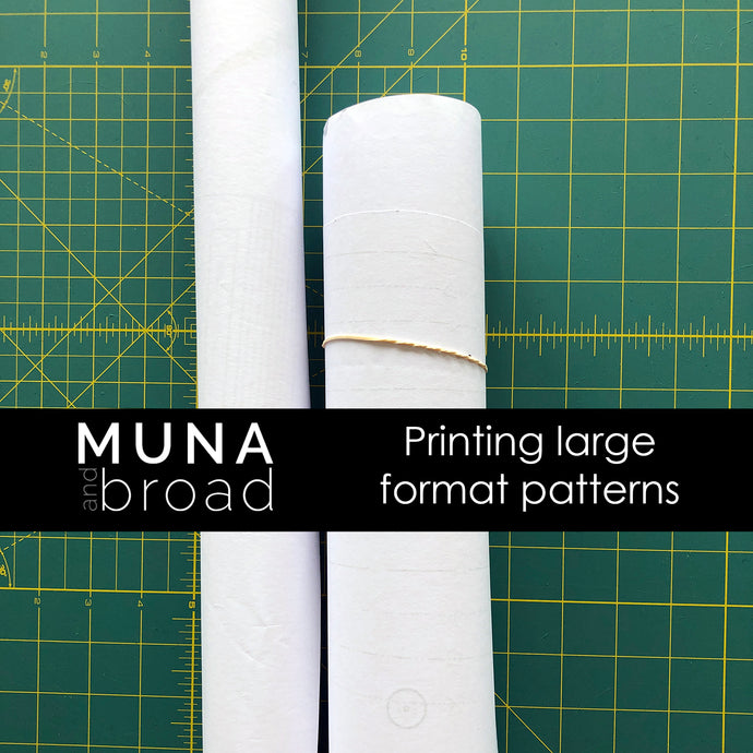 Where can I get my sewing patterns printed?