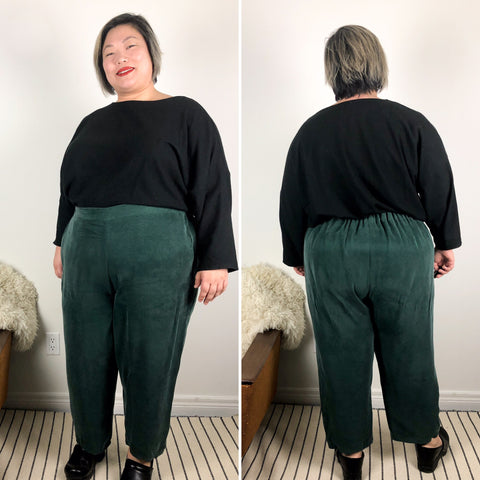 Willandra Pants from Muna and Broad Plus size pants pattern