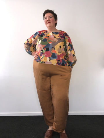Plus Size Pants Sewing Pattern from Muna and Broad
