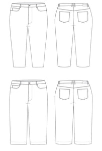 Noice Jeans Sewing Pattern PDF