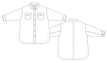 Load image into Gallery viewer, Shoalhaven Shacket Sewing Pattern PDF