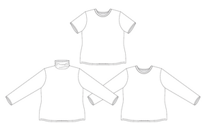 Tarlee T-Shirt Sewing Pattern PDF