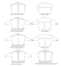 Load image into Gallery viewer, Waikerie Shirt Sewing Pattern PDF