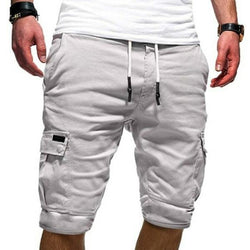 Sommer Herrenmode Beach Loose Cargo Shorts