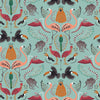 Madagascar Wallpaper in Duck Egg