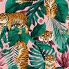 Jungle Is Massive Wallpaper in Sweet Pink