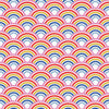 Over The Rainbow Wallpaper in Brights
