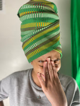 Load image into Gallery viewer, Green Headwrap