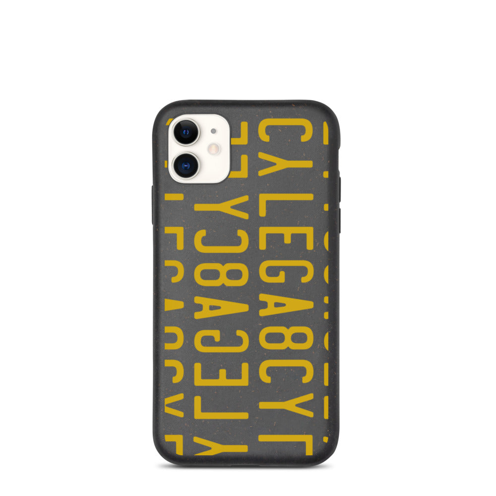 Lega8cy Pattern Biodegradable phone case