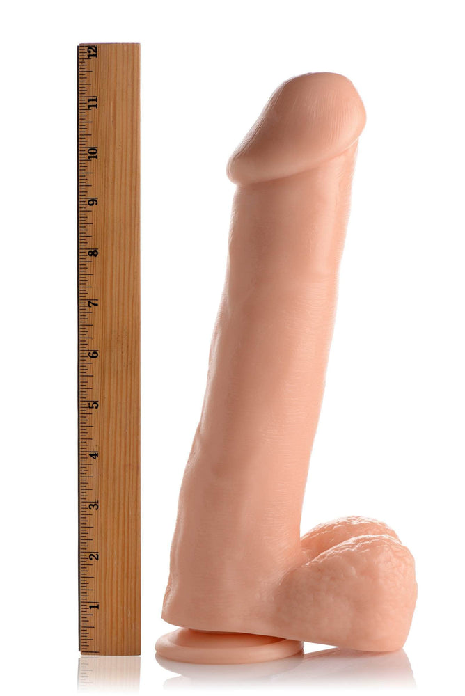 Deep Dickin Derek 12 Inch Dildo With Suction Cup