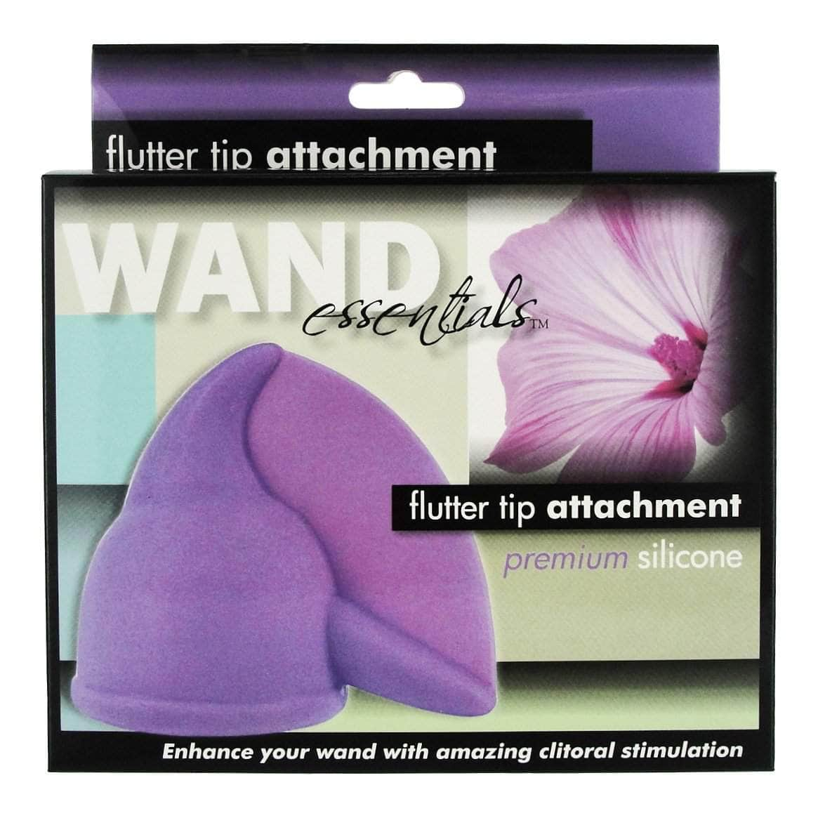 Flutter Tip Silicone Wand Attachment - Boxed