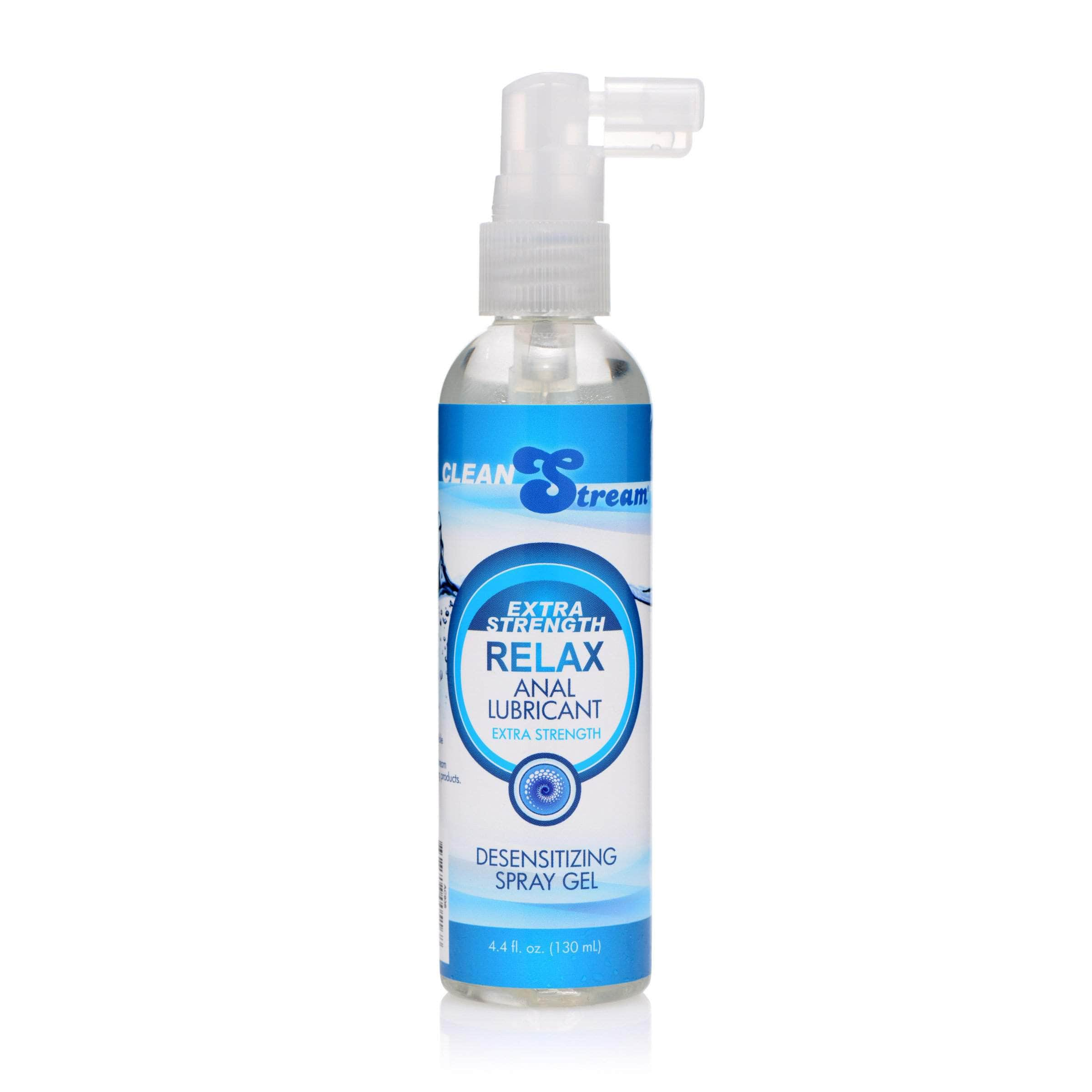 Relax Extra Strength Anal Lube - 4.4 Oz