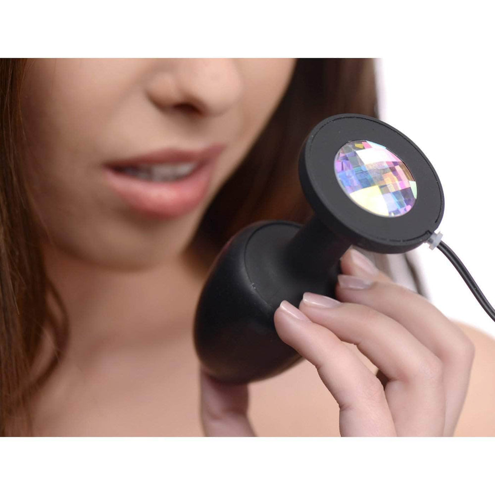 Paragon Gem Accented Vibrating Anal Plug With Internal Stimulation