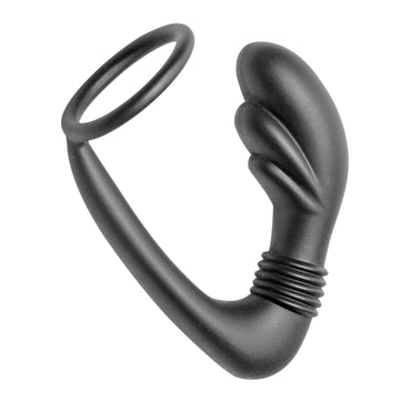 Cobra Silicone P-spot Massager And Cock Ring