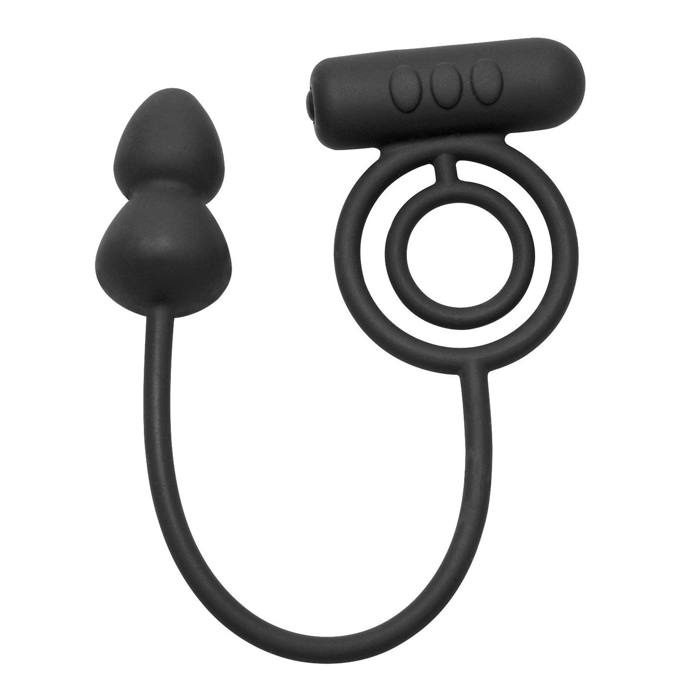 Voyager 1 Vibrating Cock Ring And Anal Plug