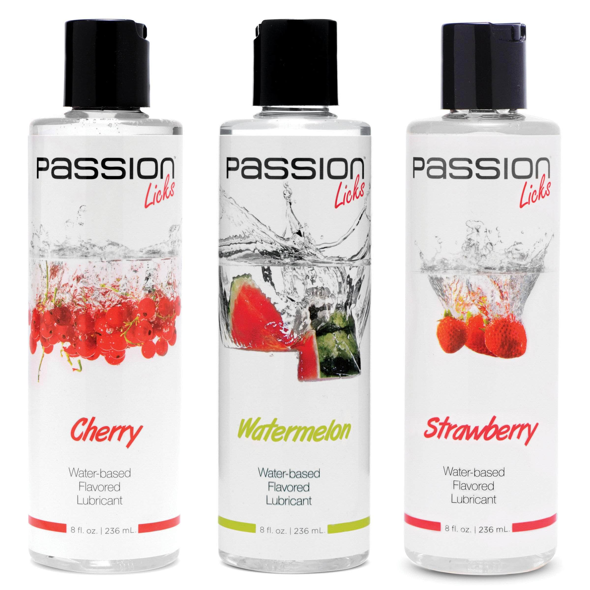 Passion Licks 3 Flavor Kit