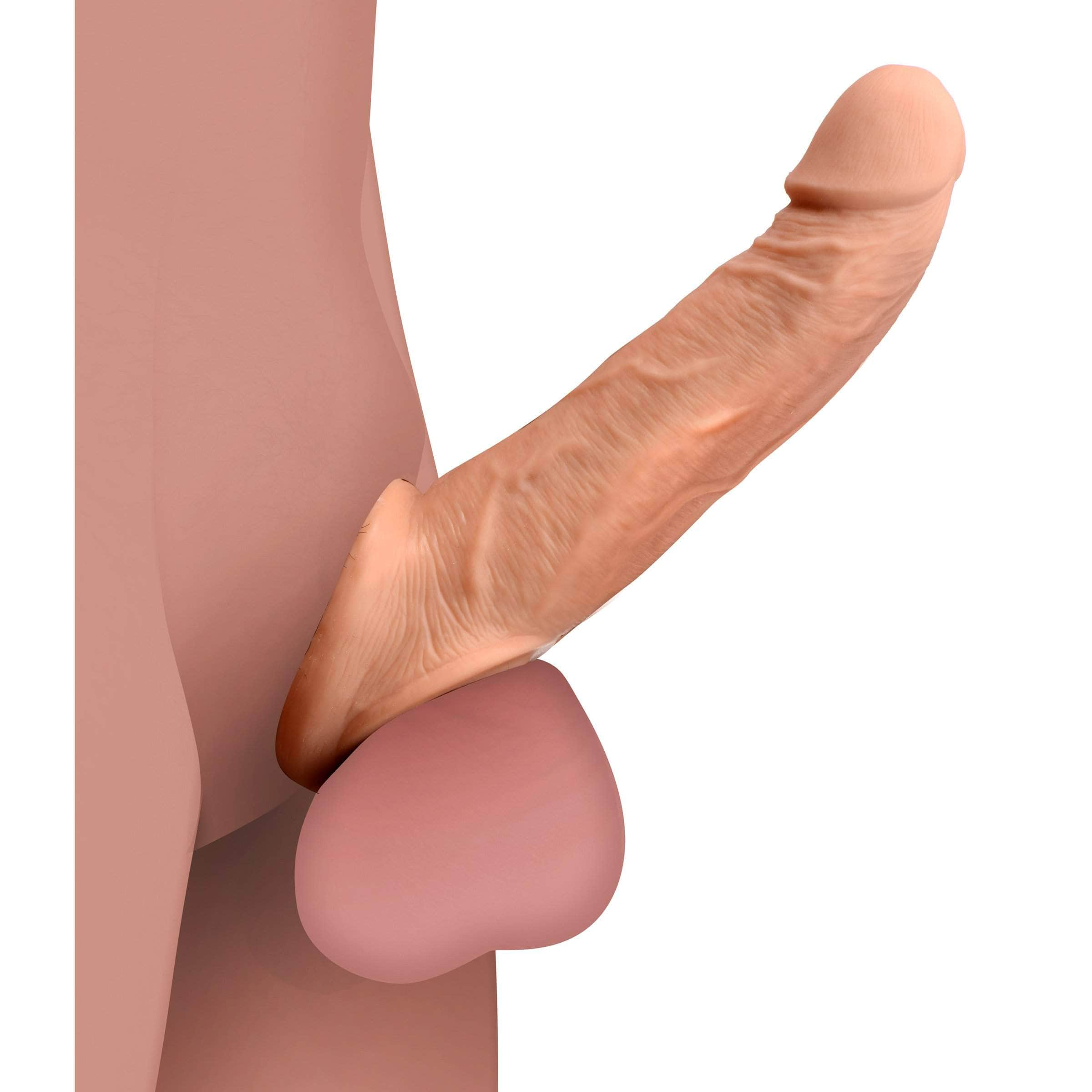 Ultra Real 2 Inch Solid Tip Penis Extension