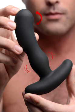 Pro-digger 7x Silicone Stimulating Beaded P-spot Vibe