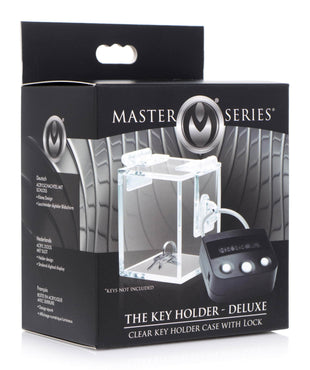 The Key Holder Deluxe Clear Case With Lock