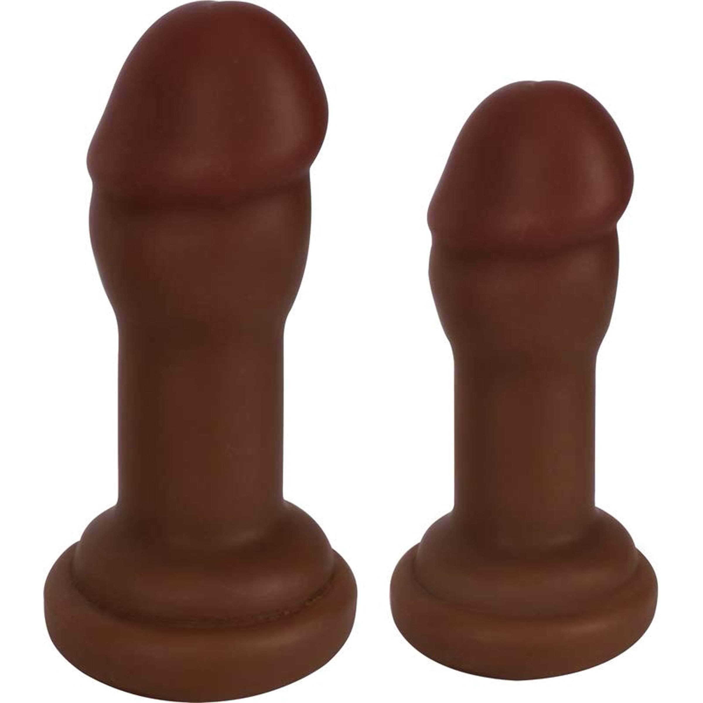 Jock Anal Plug Duo Brown