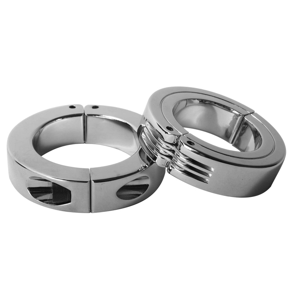 Locking Hinged Cock Ring- Medium