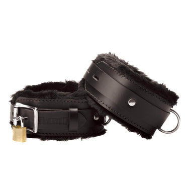 Strict Leather Premium Fur Lined Wrist Cuffs