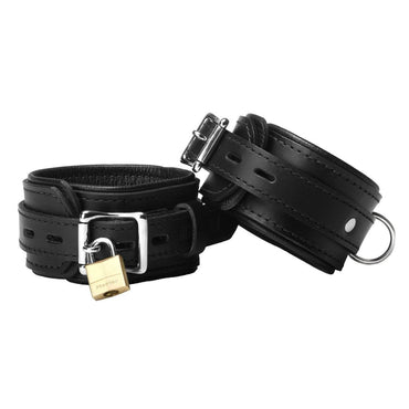 Strict Leather Premium Locking Ankle Cuffs