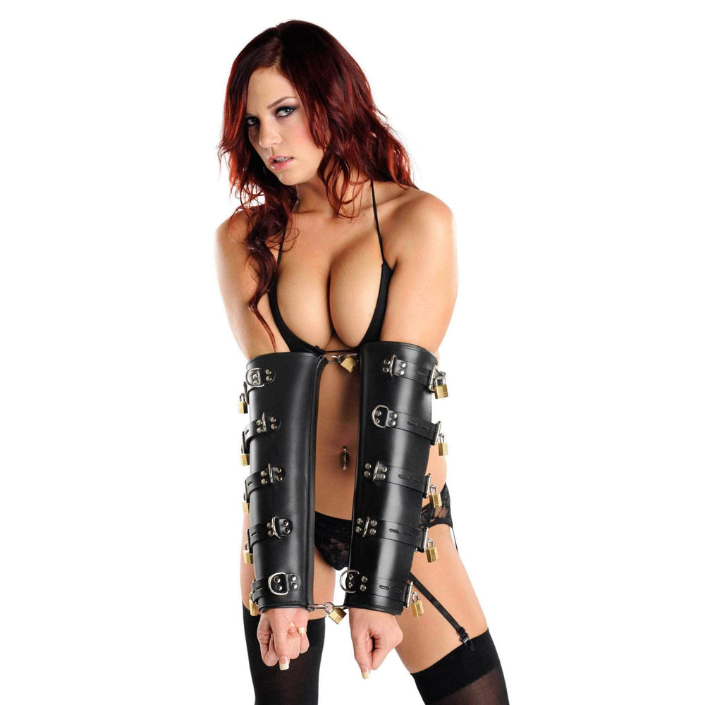 Strict Leather Premium Locking Arm Splints