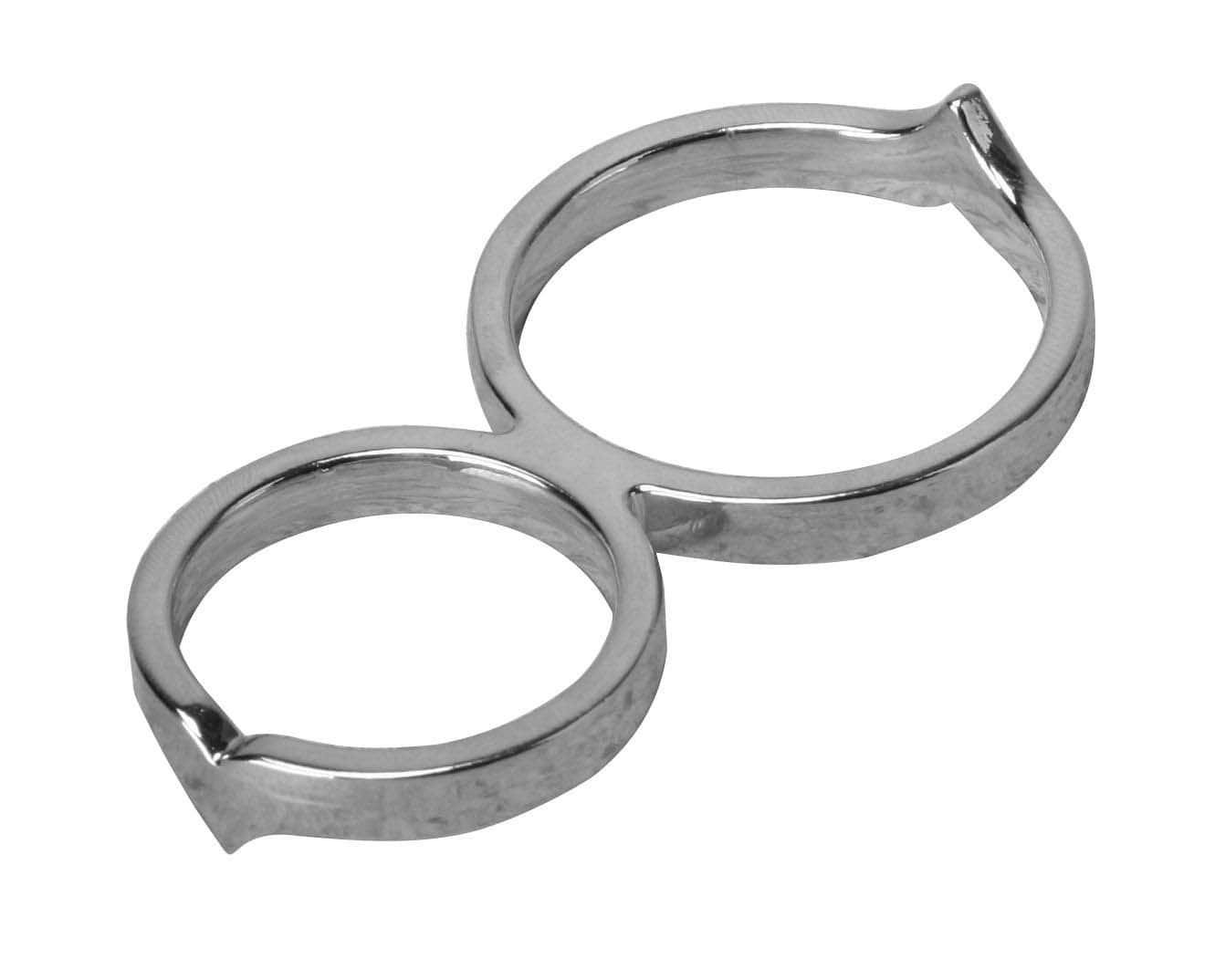 The Twisted Penis Chastity Cock Ring