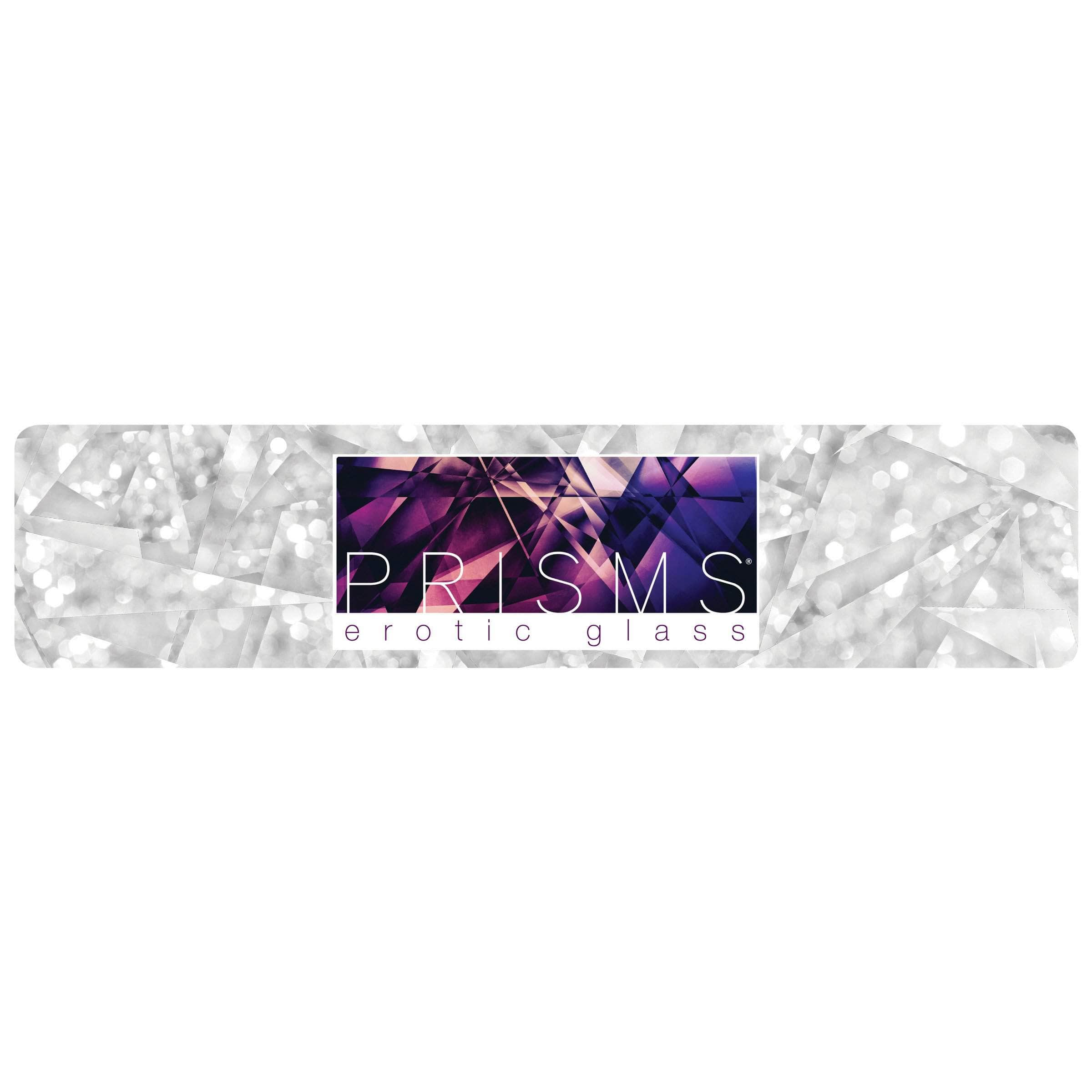 Prisms Erotic Glass Display Sign