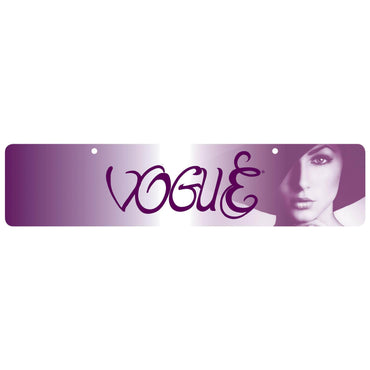 Vogue Display Sign