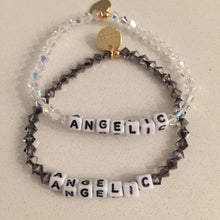 Load image into Gallery viewer, Both colors of the two ANGELIC bracelets.