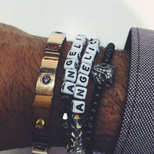 Load image into Gallery viewer, ANGELIC NYC bracelets on the wrist of mogul Evan Luthra.
