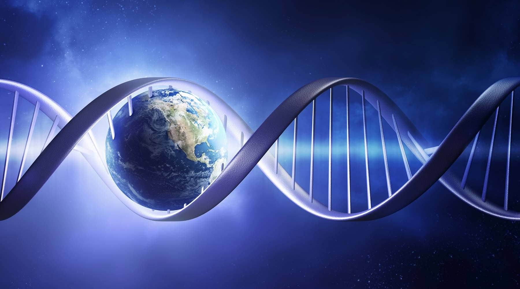 Homeschool science curriculum dna and earth banner