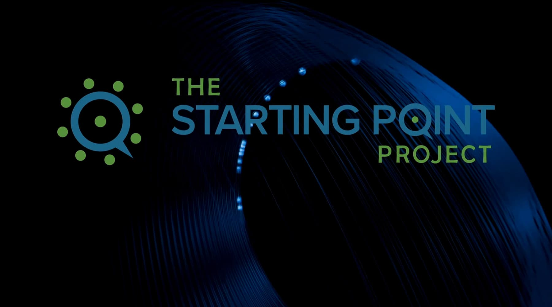 The Starting Point Project logo on black background