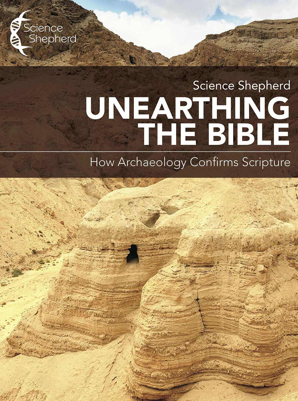 Science Shepherd Unearthing the Bible Curriculum cave at Qumran cover