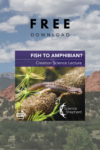 Science Shepherd Homeschool Curriculum Fish to Amphibian? free science lecture cover