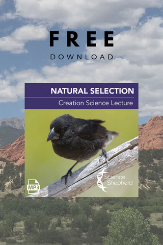 Science Shepherd Homeschool Curriculum Natural Selection free science lecture cover