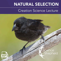 "Science Shepherd free Christian lecture ""Natural Selection"" cover image"