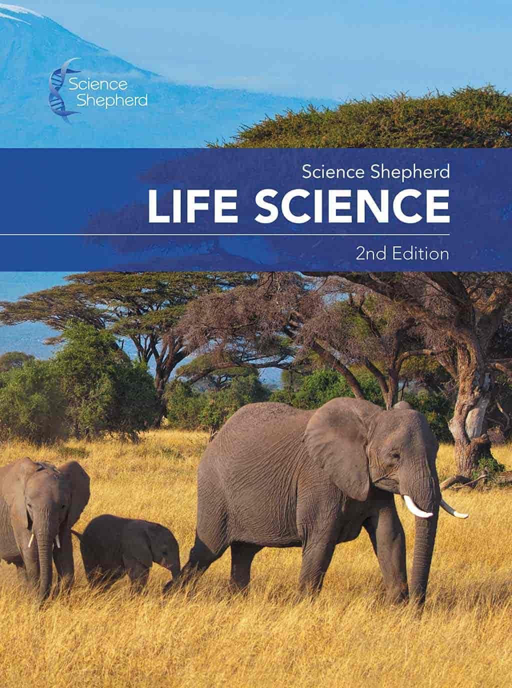 Science Shepherd Life Science homeschool middle school science textbook cover