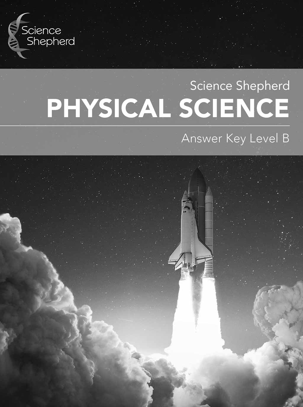Physical Science 4th to 6th grade homeschool science answer key cover