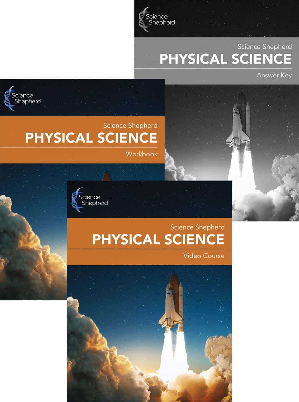 Physical Science homeschool curriculum bundle covers