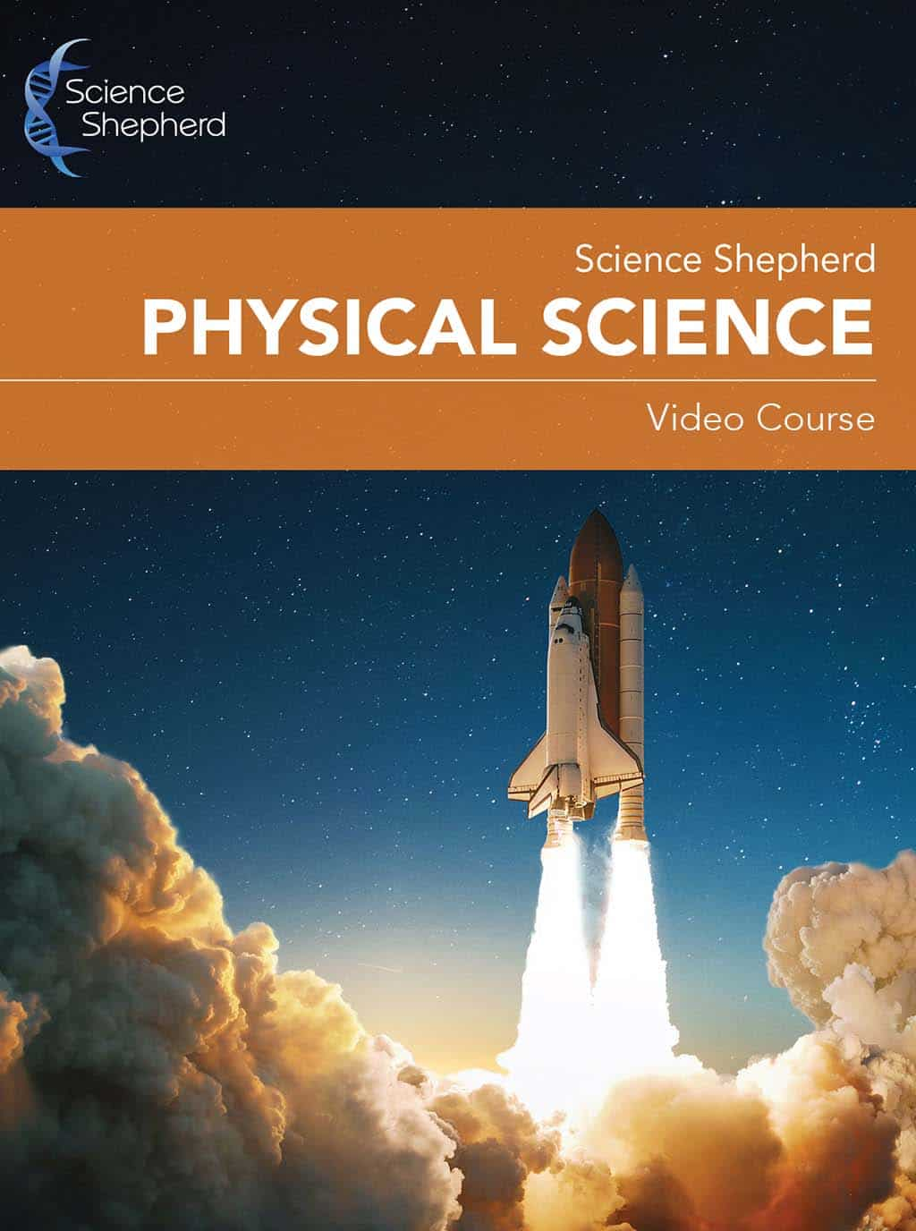 Homeschool Physical Science curriculum video course cover