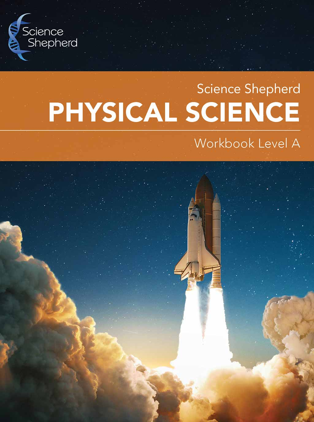 Physical Science homeschool Workbook cover - Level A