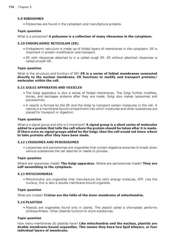 Science Shepherd High School Biology Answer Key and Parent Companion sample page 3